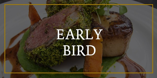Early bird menu