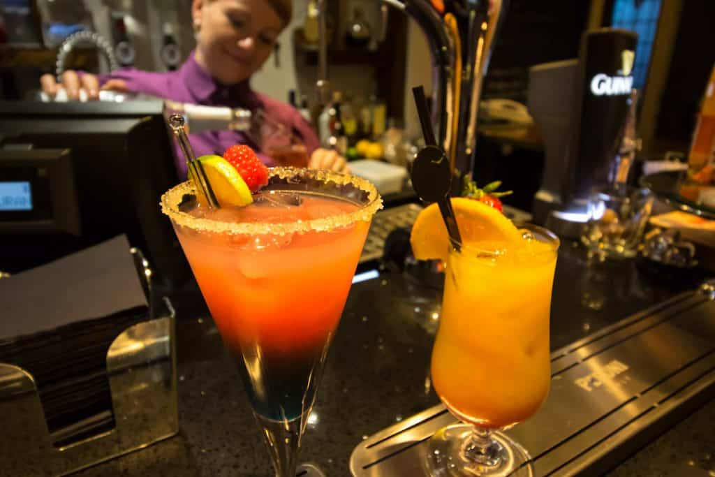 2-4-1 specials, mocktails, Afternoon Tea Cocktails and Mocktails at the bar