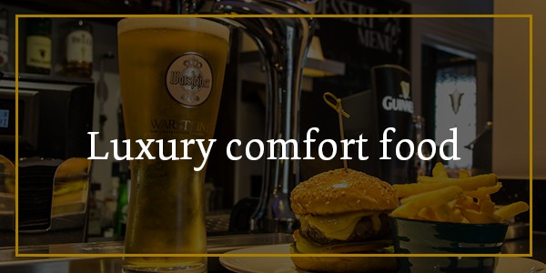 Luxury comfort food at Hamiltons
