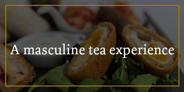 A masculine afternoon tea experience at Hamiltons Restaurant