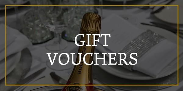 gift vouchers menu
