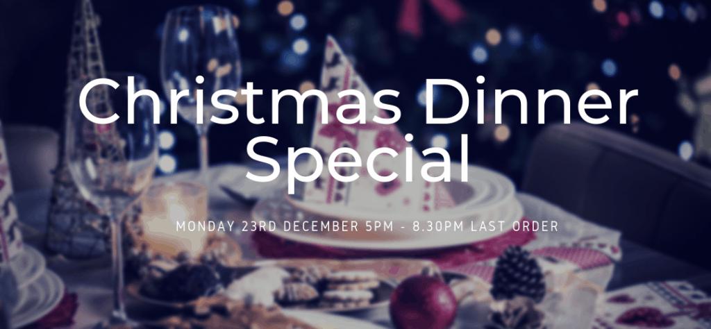 Christmas Dinner Wolverhampton