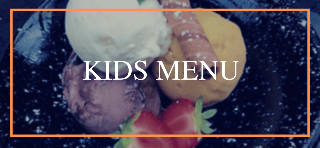kids menu at Hamiltons Restaurant in Wolverhampton